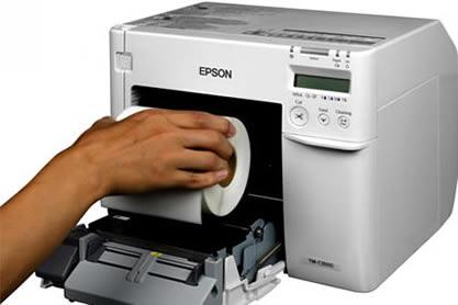 Epson C3500 Cihazı İle Kaliteli Etiket Baskısı