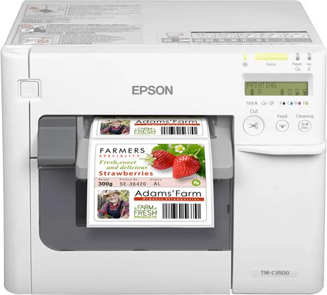 Etiket Baskısında Mükemmel Kalite Epson C3500